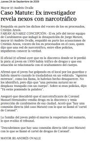 Caso Matute Johns+NarcotráficoCarabineros