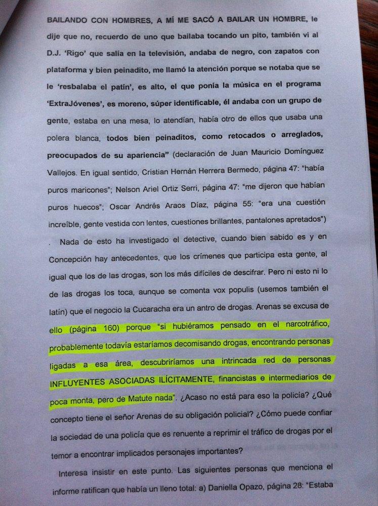 JOSE MIGUEL INSULZA, PRUEBA Y MERITO EN CASO MATUTE. (2/6)