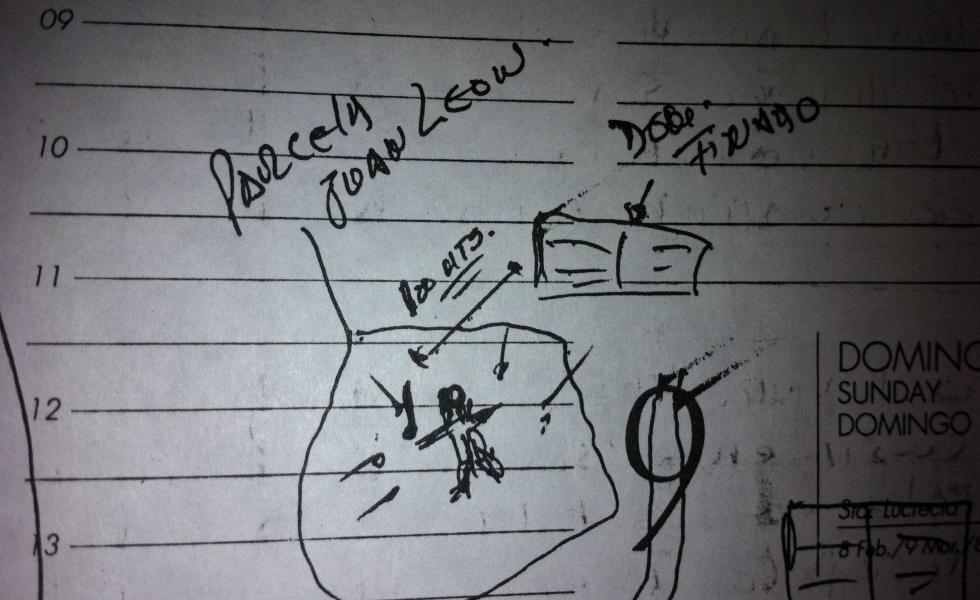 Paradero de jorge matute johns+carabinero+mapa+asesinado
