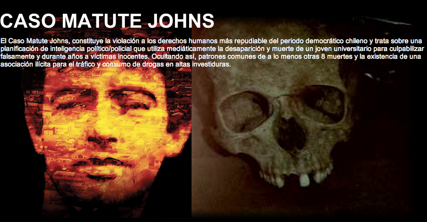 CASO JORGE MATUTE JOHNS