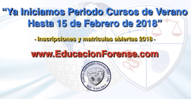 Cursos Forenses Online 2018