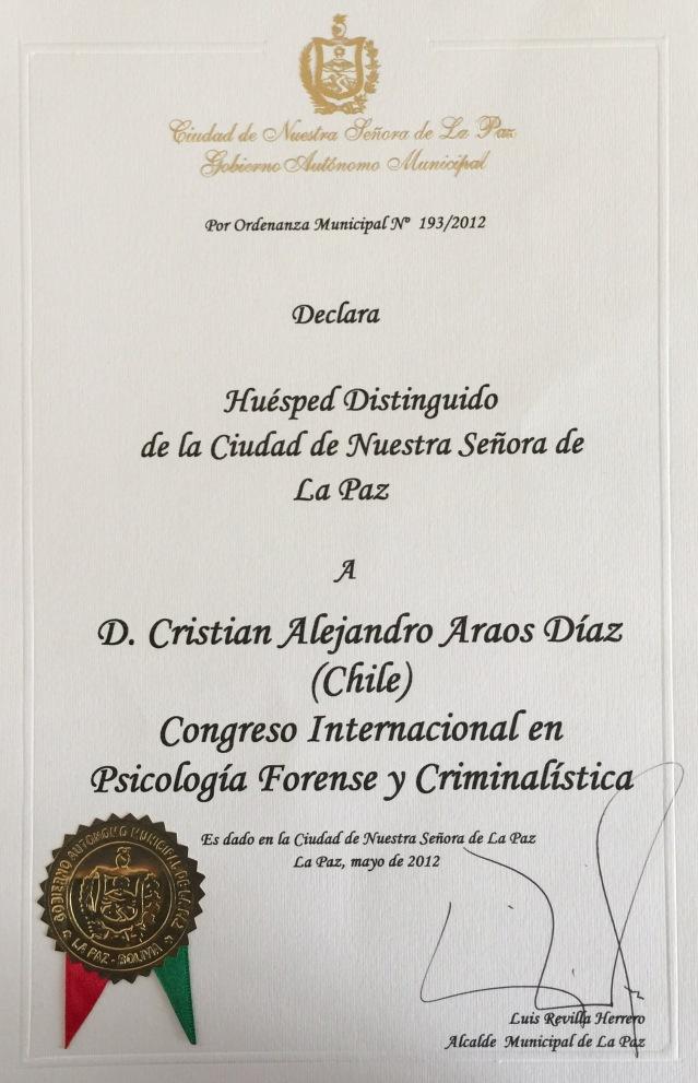 La Paz Bolivia Cristian Araos Diaz