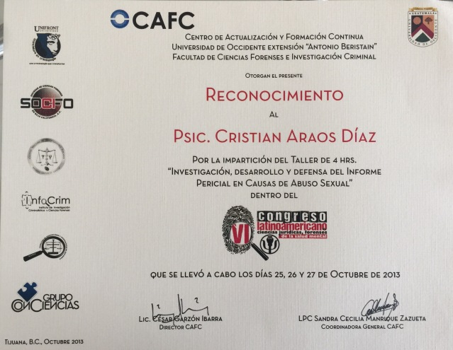 Tijuan MX Cristián Araos Diaz