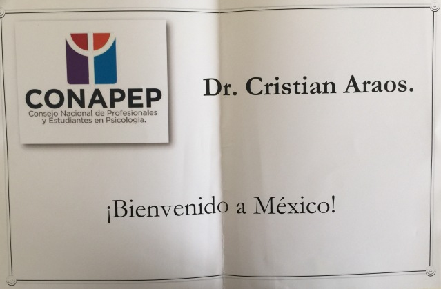 Bienvenida Cristian Araos Diaz