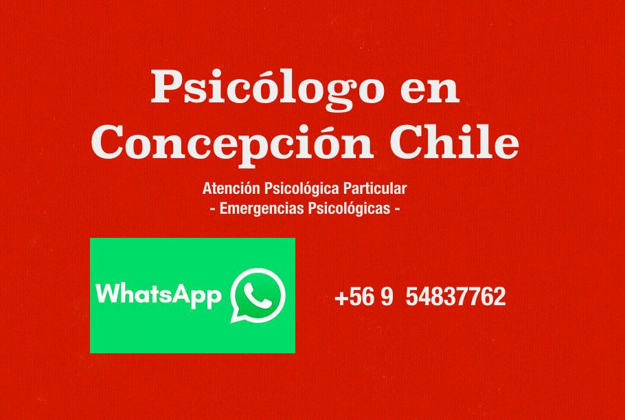 Psicologo Concepcion Chile
