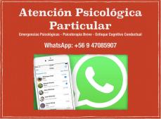 Psicologo:Psicologia atencion particular